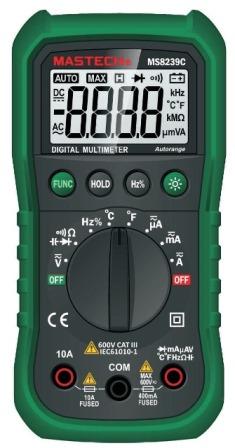мультиметр mastech ms8239c инструкция на русском